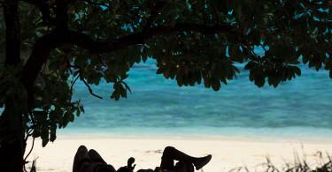 Pure Relaxation shot in Saipan