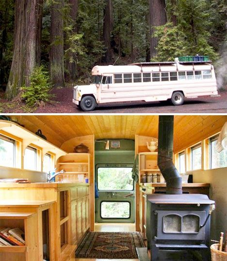 school bus home transformation
