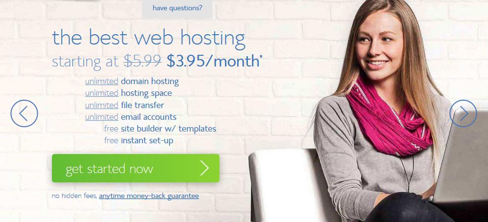 Choosing hosting provider